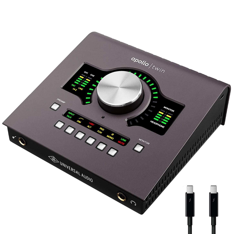 Universal audio apollo twin mkii duo 2x6 thunderbolt audio interface universal audio apollo twin mkii duo 26 thunderbolt audio interface with uad dsp stopboris Image collections